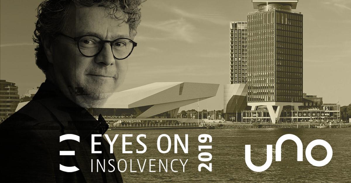 UNO speekt op EYES on Insolvency 2019