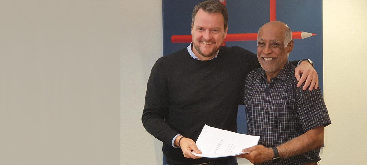 QEW RCH signing